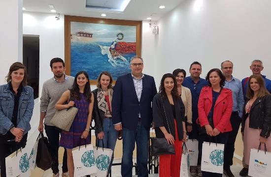 Ταξίδι εξοικείωσης Βρετανών δημοσιογράφων στην Κρήτη