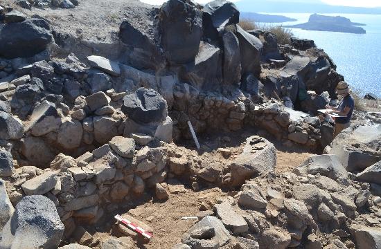 Σαντορίνη: Προϊστορικός οικισμός ανακαλύφθηκε στη Θηρασία