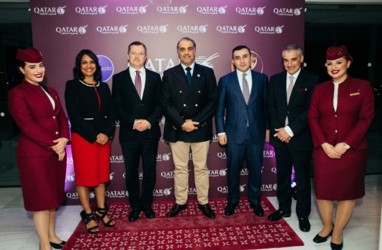 Qatar Airways: Εορτασμός στην Αθήνα για τα 20 χρόνια λειτουργίας