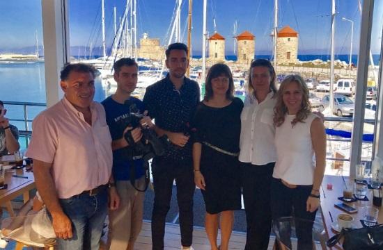 Η Ρόδος γοήτευσε δημοσιογράφους από τη Σλοβακία