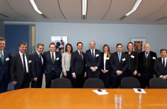 ΣΕΤΕ: Ξεκίνησαν οι συναντήσεις του Γ. Ρέτσου στις Βρυξέλλες