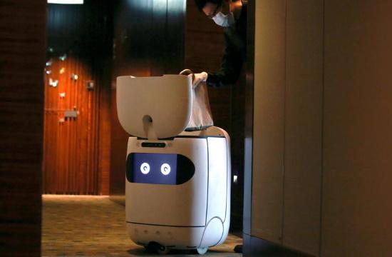 Κορωνοϊός: Τα ρομπότ αντικαθιστούν εργαζομένους σε ξενοδοχεία – Το megatrend της ερχόμενης 5ετίας
