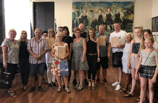 H Ρόδος βραβεύει τους συχνούς διεθνείς επισκέπτες του νησιού