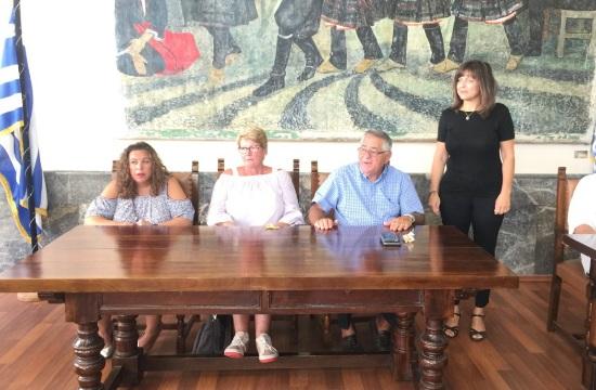 Ρόδος: Βράβευση του ομογενή Λ. Φεγγάρα για τη συμβολή του στην προβολή του νησιού
