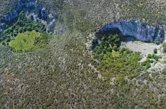 Βίντεο: Οι γιγάντιοι - μυστηριώδεις κρατήρες στην Αργολίδα