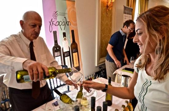 Τα κρασιά του Αιγαίου κέρδισαν τις καρδιές των Αθηναίων