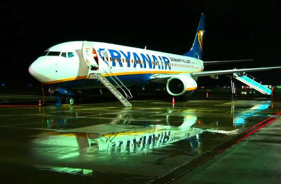 """Παρέμβαση της ΥΠΑ Ην. Βασιλείου κατά της Ryanair για """"παραπλάνηση των επιβατών"""""""