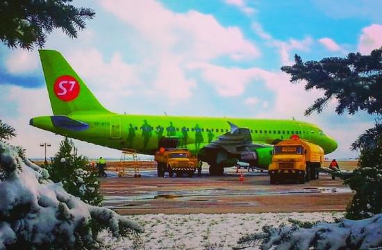 S7 Airlines: Νέα αεροπορική σύνδεση Μόσχα - Ηράκλειο το 2020