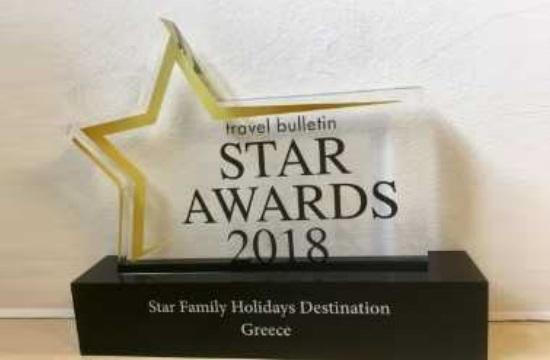 Travel Bulletin Star Awards: Η Ελλάδα καλύτερος προορισμός οικογενειακών διακοπών