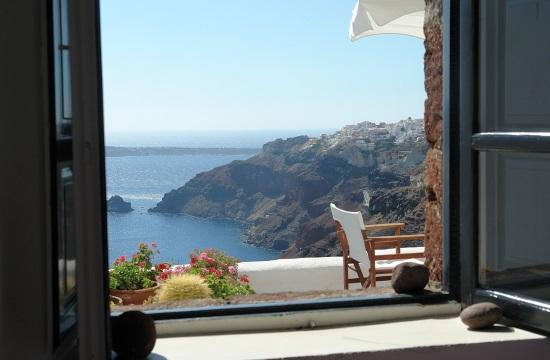 Αρνητικές επιδόσεις για τα ελληνικά ξενοδοχεία τον Ιανουάριο