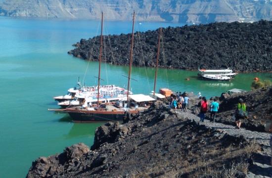 Εκδήλωση για το ηφαίστειο Σαντορίνης και περιήγηση με σκάφος