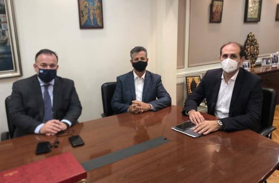 Συνάντηση ΣΕΤΚΕ με Βεσυρόπουλο και Παππά για ζητήματα του κλάδου τουριστικών καταλυμάτων