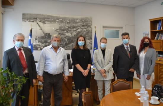 Γιώτινγκ: Συνάντηση ΣΙΤΕΣΑΠ με τον Οργανισμό Λιμένος Βόλου