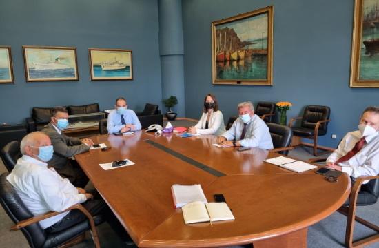ΣΙΤΕΣΑΠ: Συνάντηση με τον υπουργό Ναυτιλίας εν όψει της έναρξης της τουριστικής δραστηριότητας
