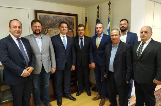 Συνάντηση Μ. Κόνσολα με τον Επιμελητηριακό Όμιλο Ανάπτυξης Ελληνικών Νησιών