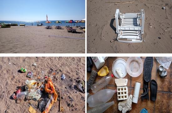 Ρόδος: Ο τουρισμός τριπλασιάζει τα απόβλητα στις παραλίες