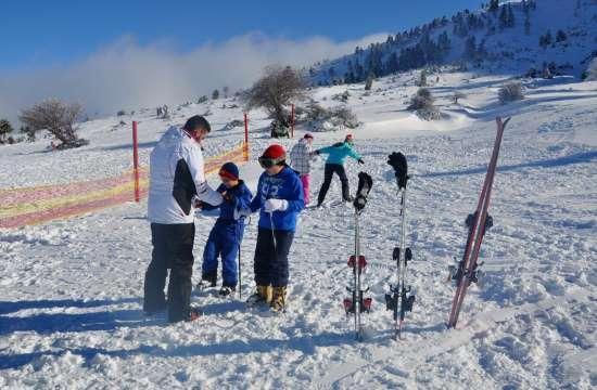 19 εκατ. ευρώ για την αναβάθμιση του χιονοδρομικού κέντρου Καλαβρύτων