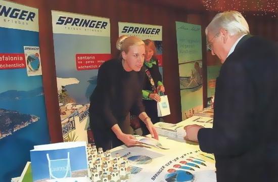 Springer Reisen: Έως 85% οι πωλήσεις πακέτων από Αυστρία