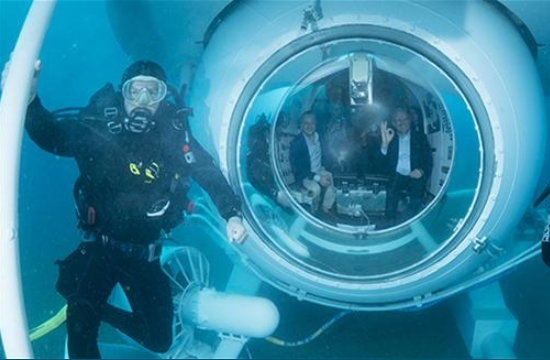 Tουρκία: Ξεκινούν τα ταξίδια του πρώτου τουριστικού υποβρυχίου στην Αττάλεια
