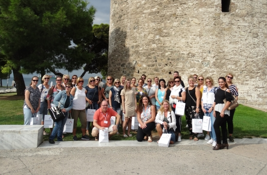 Εκπρόσωποι της Thomas Cook ξεναγήθηκαν στη Θεσσαλονίκη