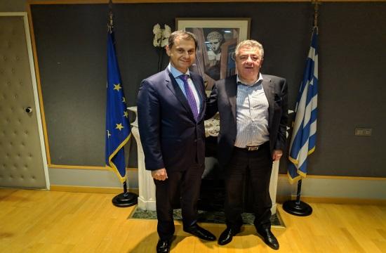 Συνάντηση Θεοχάρη- Αρναουτάκη   Δράσεις για την ενίσχυση του τουρισμού της Κρήτης