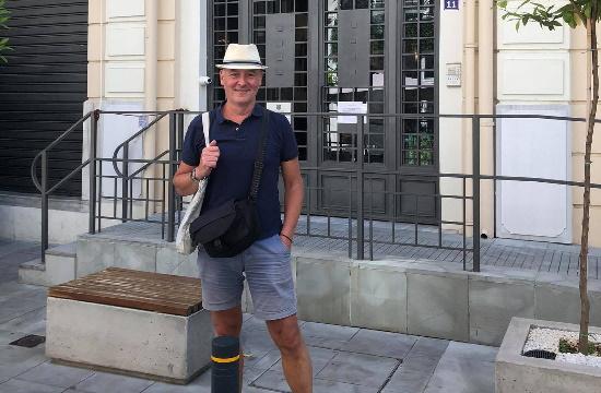 Ο Ολλανδός δημοσιογράφος Joost Brantjes παρουσιάζει τη Θεσσαλονίκη