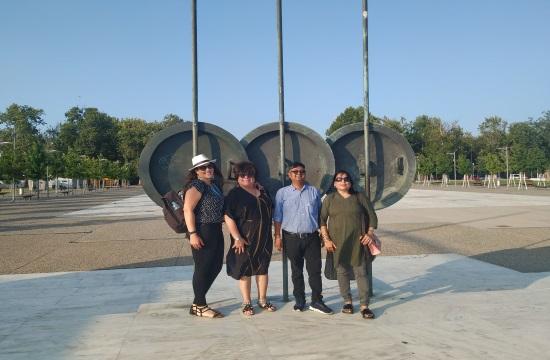 Προβολή και της Θεσσαλονίκης μέσα από τα ινδικά καλλιστεία ομορφιάς στη Χαλκιδική