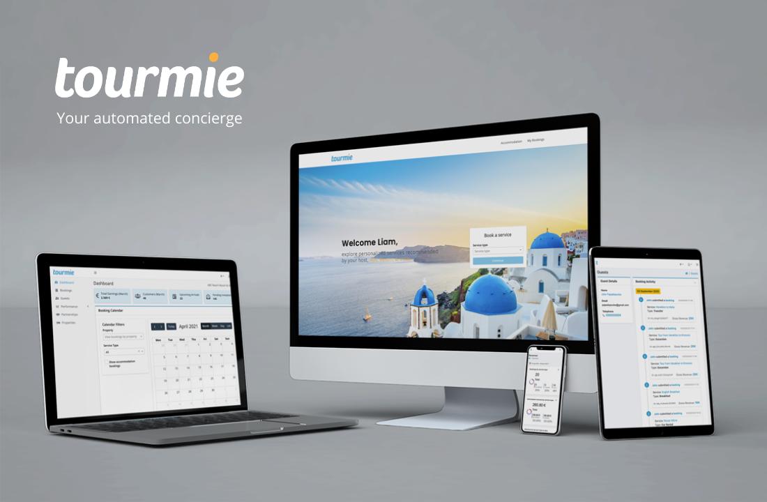 Νέα έκδοση της Tourmie: Η εφαρμογή που ενώνει επισκέπτες, ξενοδοχεία και τουριστικές επιχειρήσεις