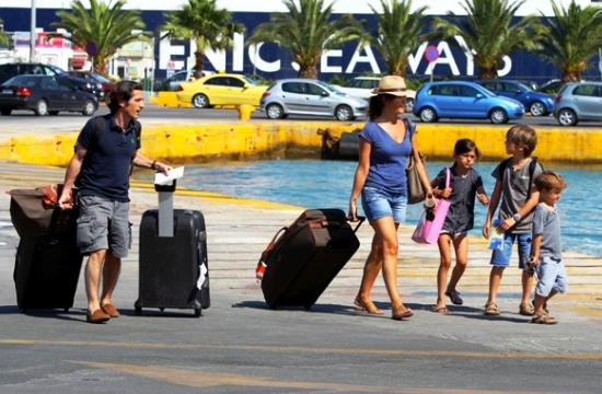 -8,9% η διακίνηση επιβατών στα ελληνικά λιμάνια το β' 3μηνο του 2016