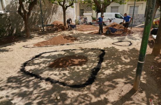 """Δήμος Αθηναίων: Νέο πάρκο """"τσέπης"""" στον Άγιο Αρτέμιο - Στόχος τα 10 έως το τέλος του έτους"""