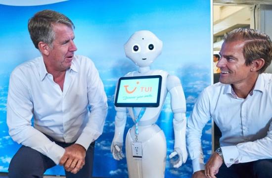 Ανθρωποειδές ρομπότ στις υπηρεσίες της TUI