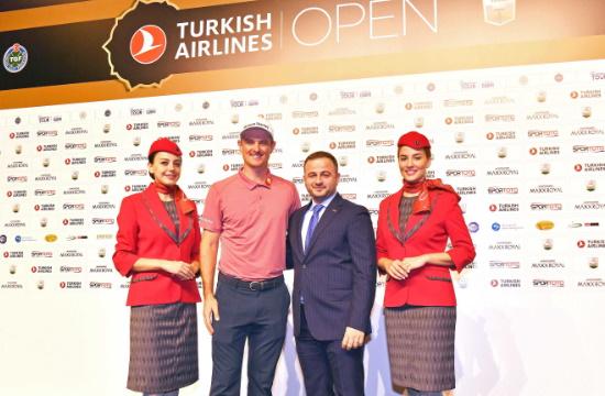 """Κορυφαίοι παίκτες του golf συναντιούνται στην Αττάλεια για το """"Turkish Airlines Open 2019"""""""