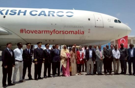 Η Turkish Airlines και οι αστέρες των social media απογειώθηκαν για τη Σομαλία