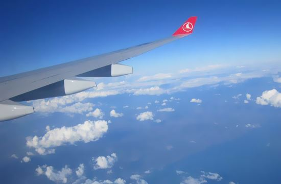 Eκκένωση αεροσκάφους της Turkish Airlines