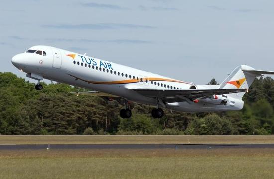 TUS Airways: Σύνδεση Πάτρας και Αλεξανδρούπολης με τη Λάρνακα