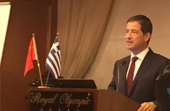 Ο Γ. Τζιάλλας στο Ελληνο-Κινεζικό Συνέδριο Επιχειρηματικότητας