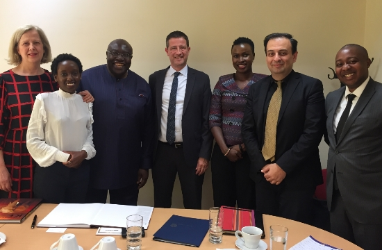 Συνάντηση Γ. Τζιάλλα με αξιωματούχους της Κένυας