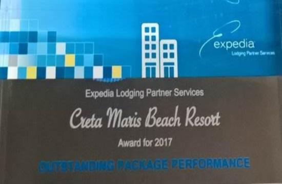 Βραβείο της Expedia στο Creta Maris
