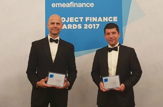 Διάκριση της Fraport Greece στα EMEA Finance's Project- Finance Awards 2017