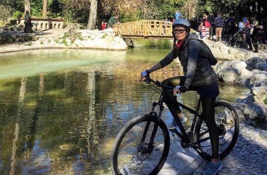 Πρέσβειρα των Bike Friendly Hotels η Τίτη Βελοπούλου
