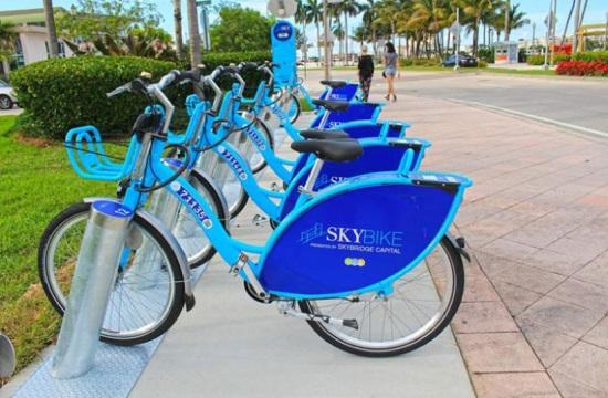 Οι σταθμοί αυτόματης διάθεσης κοινόχρηστων ποδηλάτων στο Βόλο