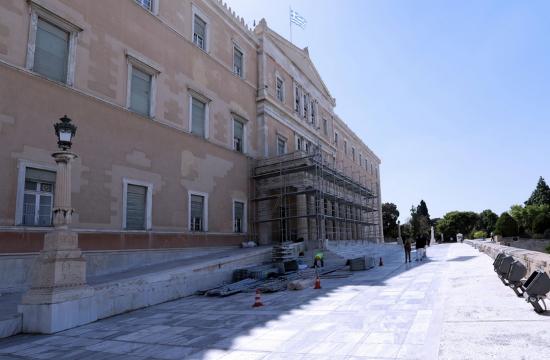 Ανάδειξη του κτηρίου της Βουλής για τα 200 χρόνια από την Ελληνική Επανάσταση
