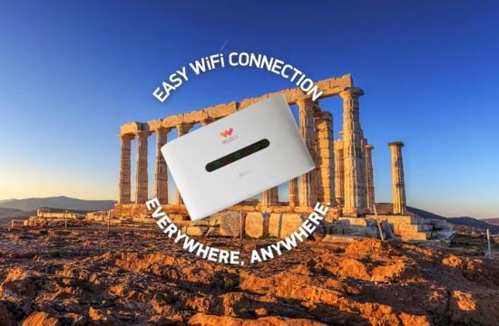 Απεριόριστο 4G mobile Ίντερνετ για την τουριστική αγορά