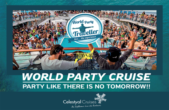 World Party Cruise στο Celestyal Nefeli