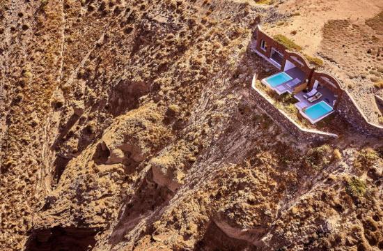 Νέο πολυτελές ξενοδοχείο ανοίγει φέτος στη Σαντορίνη (φωτο)