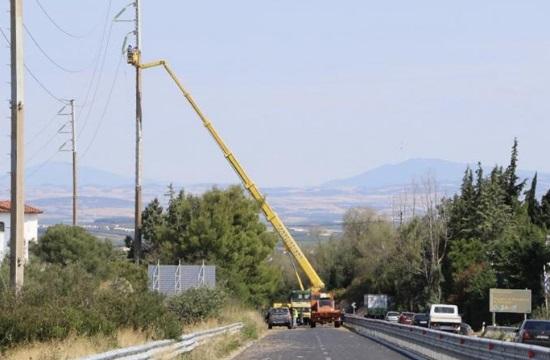 Χαλκιδική: Σήμερα αποκαθίσταται η ηλεκτροδότηση σε περιοχές με προβλήματα - Νέα κακοκαιρία