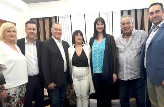 Ε.Κουντουρά: Ο τουρισμός στη Χαλκιδική στο επίκεντρο ευρείας σύσκεψης