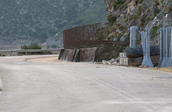 Στην κυκλοφορία το οδικό τμήμα Χάρακας στην Κεφαλονιά