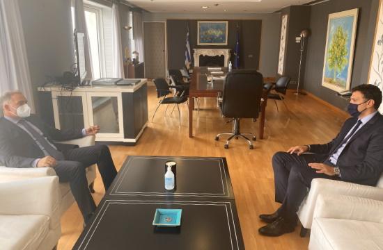 Συνάντηση Κικίλια - Βασιλικού για τις προτεραιότητες του ξενοδοχειακού κλάδου