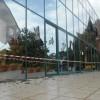 Βανδαλιστική επίθεση στο Κέντρο Τουριστικής Πληροφόρησης Βόλου
